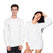 Fine Jersey Long Sleeve T-Shirt (Unisex)