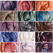 Merino/Silk Sliver 100gm