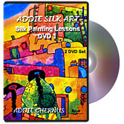 Addie Silk Art: Silk Painting Lessons DVD 1