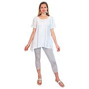 Asymmetric Tunic - Short Sleeve