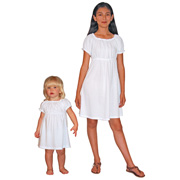 Infant to Girls Peasant Dress