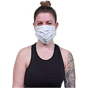 100% Cotton 3 Ply Pleated Facemask