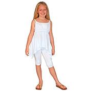 Girl's Cami-Strap Asymmetric Top