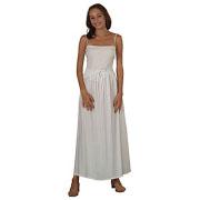 Rayon Elastic Waist Drawstring Skirt