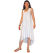 Hi-lo Rayon Tank Dress