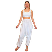 Harem Pants with Leg Pocket