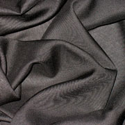 "Black Viscose Rayon Challis 58"" wide"