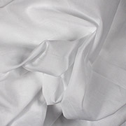 White Batiste 100% Cotton 58""