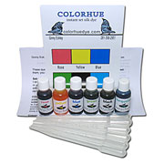Colorhue Silk Dyes -  6 Color Set