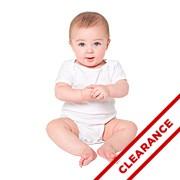 Infant Baby Rib Short Sleeve One-Piece (Unisex)