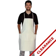 Cotton Canvas Aprons With White Ties