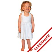 Halter Dress with Smocked Back