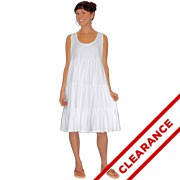Tiered Racerback Dress - Large