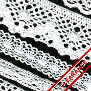 Dyeable Cotton Lace Trim