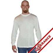 Men's Silk Knit Long Sleeve T