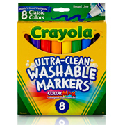 Crayola Ultra-Clean Washable Marker Set