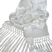 Cut Devore Satin Scarves