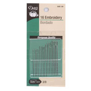 Dritz Embroidery Needles - 16 pcs.