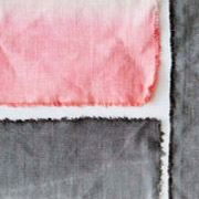 DIY Dip Dye Placemats - A DesignLoveFest Tutorial