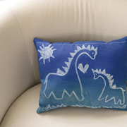 Inkodye Dry-Erase Doodle Pillow