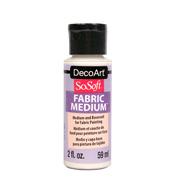 DecoArt SoSoft Transparent Medium