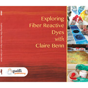 Exploring Fiber Reactive Dyes by Claire Benn