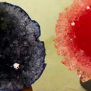 Acid Dye Egg Geode
