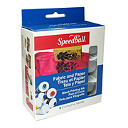 Speedball Fabric Block Printing Set - 6 Colors