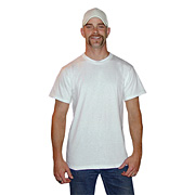 Bulk White Fruit of the Loom T-shirts