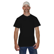 Bulk Black Fruit of the Loom Heavy Cotton HD T-Shirts