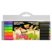 FabricMate Superfine Markers - 6 Color Sets