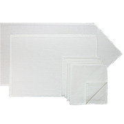 100% Cotton Hemmed Napkins, Placemats, Table Runners