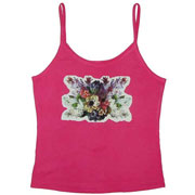 Camisole Top with Inkjet Opaque Transfer Paper