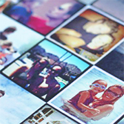 DIY Custom Instagram iPad Cover - A Lil Blue Boo Tutorial