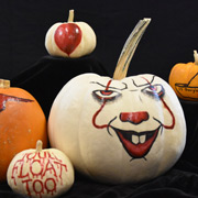 Petrifying Painted Pumpkins