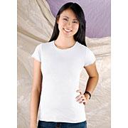 Junior Fine Jersey Longer Length T-shirt (#JLLT)