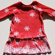 Snowdrift Dress with Dy-na-flow - Lil Blue Boo Tutorial