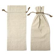 """Linen Wine Bag 6""""x14"""""""