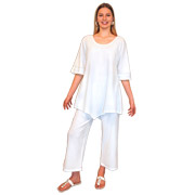 Lanai Tunic - Crinkle Cotton Gauze
