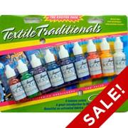 Jacquard Traditional Textile Colors Mini Starter Set