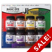 Jacquard Basic Dye Starter Set