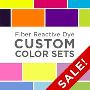 Fiber Reactive Dye Custom Color Sets