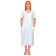Swinging Bubble Dress - Short Sleeves