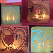 DIY Silk Luminaries: An Outlaw Bunny Tutorial