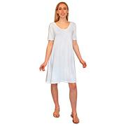 Slubby Jersey Swing Dress