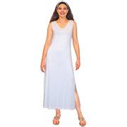Slinky Maxi Tank Dress - Rayon Spandex Jersey