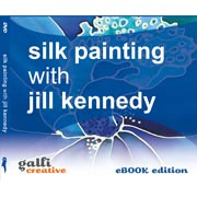 Silk Painting DVD - eBook Edition