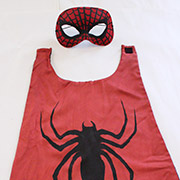 Spiderman Cape and Mask Tutorial