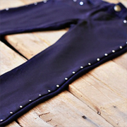 DIY Studded Jeans or Leggings - A Lil Blue Boo Tutorial