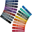 MARVY Permanent Broadpoint Fabric Markers